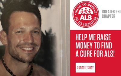 Help me raise Money to find a cure for ALS!